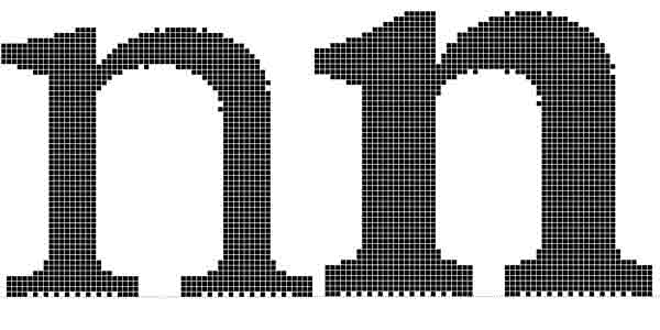 Original bitmap version of DTL Documenta (1980s)
