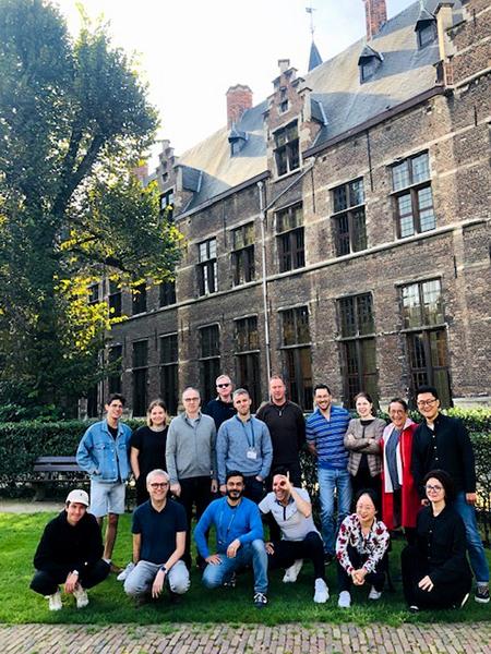 Typography Summer School Antwerp class 2019